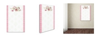 "Trademark Global Jean Plout 'Card 3' Canvas Art - 24"" x 16"" x 2"""