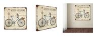 "Trademark Global Jean Plout 'Bike 5' Canvas Art - 35"" x 35"" x 2"""