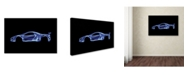 """Trademark Innovations Octavian Mielu 'McLaren P1' Canvas Art - 32"""" x 22"""" x 2"""""""