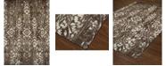 """D Style Alanna Ala3 Chocolate 3'3"""" x 5'1"""" Area Rug"""
