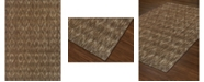 "D Style Weekend Wkd6 Chocolate 5'1"" x 7' Area Rug"