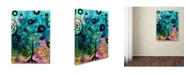 "Trademark Global Natasha Wescoat 'Enter' Canvas Art - 19"" x 14"" x 2"""