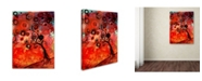 "Trademark Global Natasha Wescoat 'Two Of A Kind' Canvas Art - 19"" x 14"" x 2"""