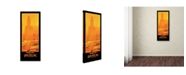 "Trademark Global Vintage Lavoie 'Travel Rail 8' Canvas Art - 32"" x 14"" x 2"""