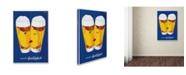 "Trademark Global Vintage Lavoie 'Beer Creates Sociability' Canvas Art - 47"" x 30"" x 2"""