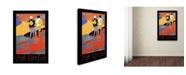 "Trademark Global Vintage Lavoie 'Travel 308' Canvas Art - 32"" x 22"" x 2"""