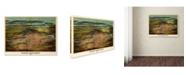 "Trademark Global Vintage Lavoie 'Birdseye View Of Newark' Canvas Art - 32"" x 24"" x 2"""