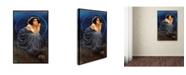 "Trademark Global Vintage Lavoie 'Giorgio Kienerk Lenigma Umano' Canvas Art - 32"" x 22"" x 2"""