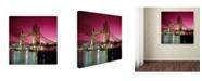 "Trademark Global Robert Harding Picture Library 'Bridge 102' Canvas Art - 35"" x 35"" x 2"""