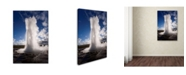 "Trademark Global Robert Harding Picture Library 'Geyser 1' Canvas Art - 24"" x 16"" x 2"""