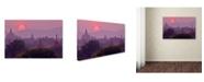 "Trademark Global Robert Harding Picture Library 'Sunset 1' Canvas Art - 19"" x 12"" x 2"""