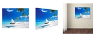 "Trademark Global Robert Harding Picture Library 'Beachy 11' Canvas Art - 32"" x 24"" x 2"""