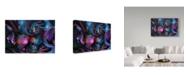 "Trademark Global RUNA 'Shell 3' Canvas Art - 19"" x 12"" x 2"""