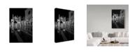 "Trademark Global Moises Levy 'Aqua Alta' Canvas Art - 24"" x 16"" x 2"""