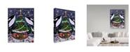 "Trademark Global Jake Hose 'An Orcas Christmas' Canvas Art - 24"" x 18"" x 2"""