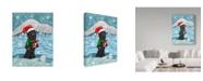 "Trademark Global Jake Hose 'Jolly Sasquatch' Canvas Art - 24"" x 18"" x 2"""