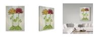 "Trademark Global Jessmessin 'Together' Canvas Art - 24"" x 18"" x 2"""