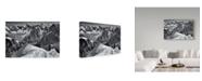 "Trademark Global Mihai Ian Nedelcu 'Arete' Canvas Art - 32"" x 2"" x 22"""