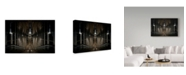 "Trademark Global Michiel Hageman 'The Abyss Trains' Canvas Art - 47"" x 2"" x 30"""