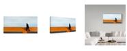 "Trademark Global Mikhail Potapov 'The First Step' Canvas Art - 32"" x 2"" x 16"""