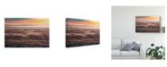 "Trademark Global Susumu Nihashi 'Thick Dawn' Canvas Art - 24"" x 2"" x 16"""