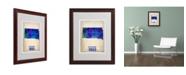 """Trademark Global Naxart 'South Dakota Watercolor Map' Matted Framed Art - 16"""" x 20"""" x 0.5"""""""