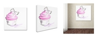 "Trademark Global Jennifer Lilya 'Cupcake 2' Canvas Art - 35"" x 35"" x 2"""