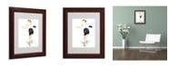 "Trademark Global Jennifer Lilya 'Addictive' Matted Framed Art - 11"" x 14"" x 0.5"""