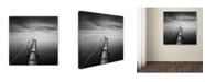 "Trademark Global Moises Levy 'Direction' Canvas Art - 18"" x 18"" x 2"""