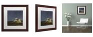 "Trademark Global Moises Levy 'Point Reyes I' Matted Framed Art - 16"" x 16"" x 0.5"""