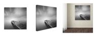 """Trademark Global Moises Levy 'Destiny IVb' Canvas Art - 18"""" x 18"""" x 2"""""""