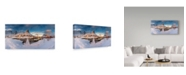 "Trademark Global David Martin Castan 'Reine' Canvas Art - 24"" x 12"" x 2"""