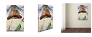 """Trademark Global Robert Harding Picture Library 'Flags 2' Canvas Art - 19"""" x 12"""" x 2"""""""