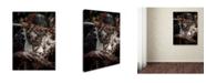 "Trademark Innovations Pavol Stranak 'To Make Fire' Canvas Art - 24"" x 18"" x 2"""