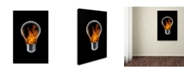 "Trademark Global Stefan Eisele 'The 4 Elements' Canvas Art - 19"" x 12"" x 2"""