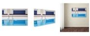 "Trademark Global Renate Reichert 'Swimming' Canvas Art - 47"" x 30"" x 2"""