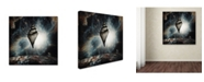 "Trademark Global Roland Helerand 'Dream House' Canvas Art - 18"" x 18"" x 2"""