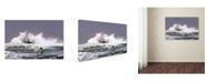 "Trademark Global Milen Dobrev 'Advanced Surfing' Canvas Art - 19"" x 12"" x 2"""