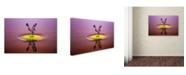 "Trademark Global Muhammad Berkati 'You And Me' Canvas Art - 19"" x 12"" x 2"""