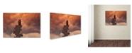 "Trademark Global David Senechal 'Escale' Canvas Art - 47"" x 30"" x 2"""