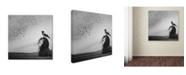 "Trademark Global Tatiana Koshutina 'Thoughts' Canvas Art - 14"" x 14"" x 2"""
