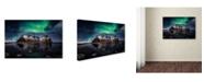 "Trademark Global Javier De La 'Enchanted Stokksnes' Canvas Art - 19"" x 12"" x 2"""