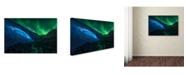 "Trademark Global Jesus M Garcia 'Athabasca Cave' Canvas Art - 19"" x 12"" x 2"""