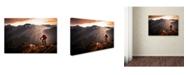 "Trademark Global Sandi Bertoncelj 'Just Ride' Canvas Art - 47"" x 30"" x 2"""