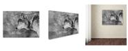"Trademark Global Victoria Ivanova 'Let It Snow' Canvas Art - 47"" x 35"" x 2"""