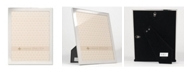 """Lawrence Frames Flat Silver Metal Picture Frame - 8"""" x 10"""""""