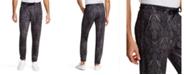 Tallia Men's Tapered Stretch Ornate Paisley Jogger Pants