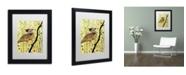 """Trademark Global Sylvie Demers 'Monsieur' Matted Framed Art - 11"""" x 14"""" x 0.5"""""""