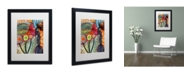 "Trademark Global Sylvie Demers 'Vivaces' Matted Framed Art - 16"" x 20"" x 0.5"""