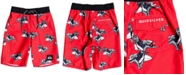 """Quiksilver Little Boys Everyday Dinos Performance-Fit 14"""" Board Shorts"""